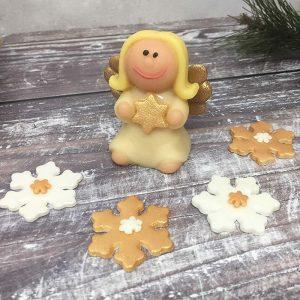 angel cake decoration
