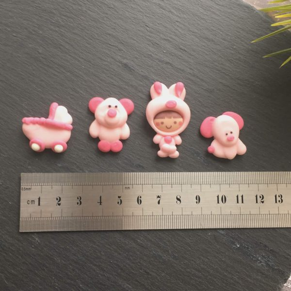 baby pink decorations