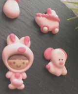 baby pink edible toppers