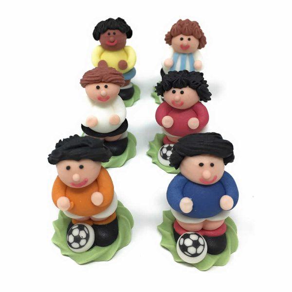 footballer cake decorations