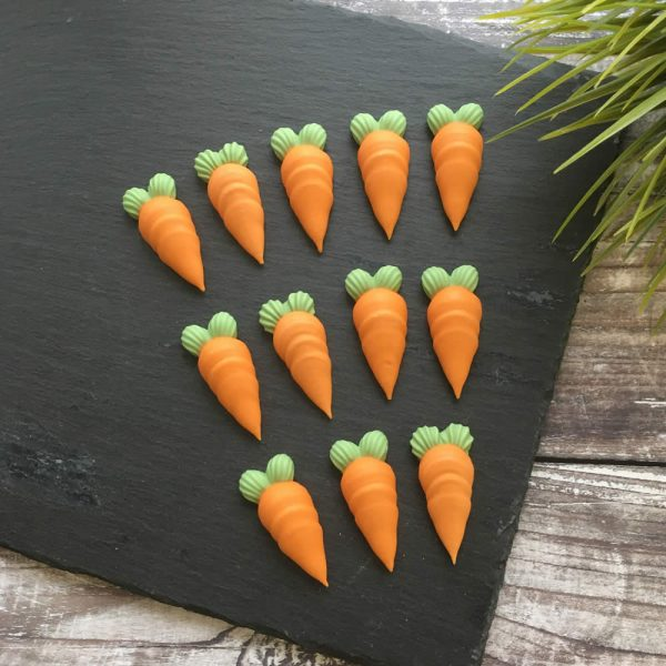 large carrot cake decorations