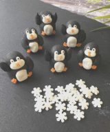 penguin cake decorations