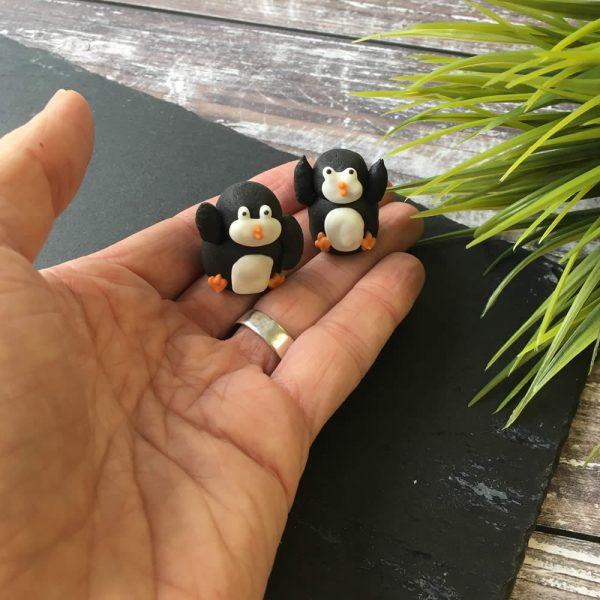 penguin edible decorations