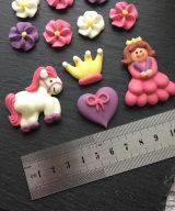princess edible decoration