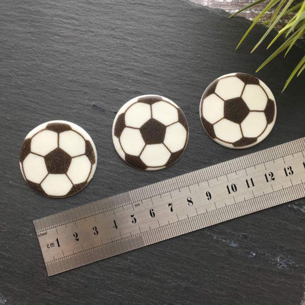 sugar football decorations