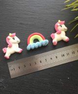 unicorn rainbow edible decorations