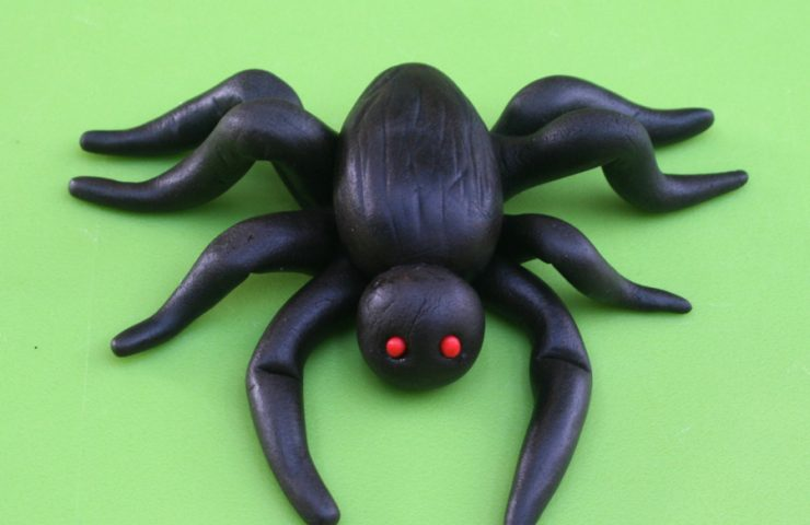 Fondant Spider